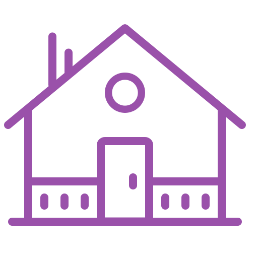 Purple House Icon